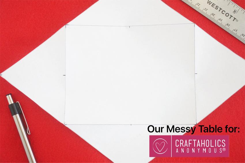 valentines day envelope stencil