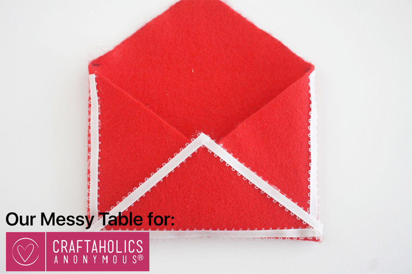 diy valentines envelope