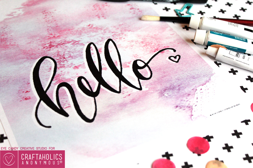 free hello art printable download