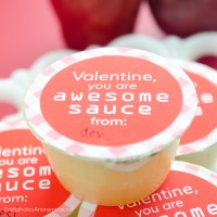 Applesauce Valentine Printable || Valentine, you are awesome sauce!