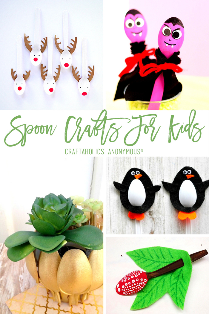 20 Easy Spoon Crafts for Kids