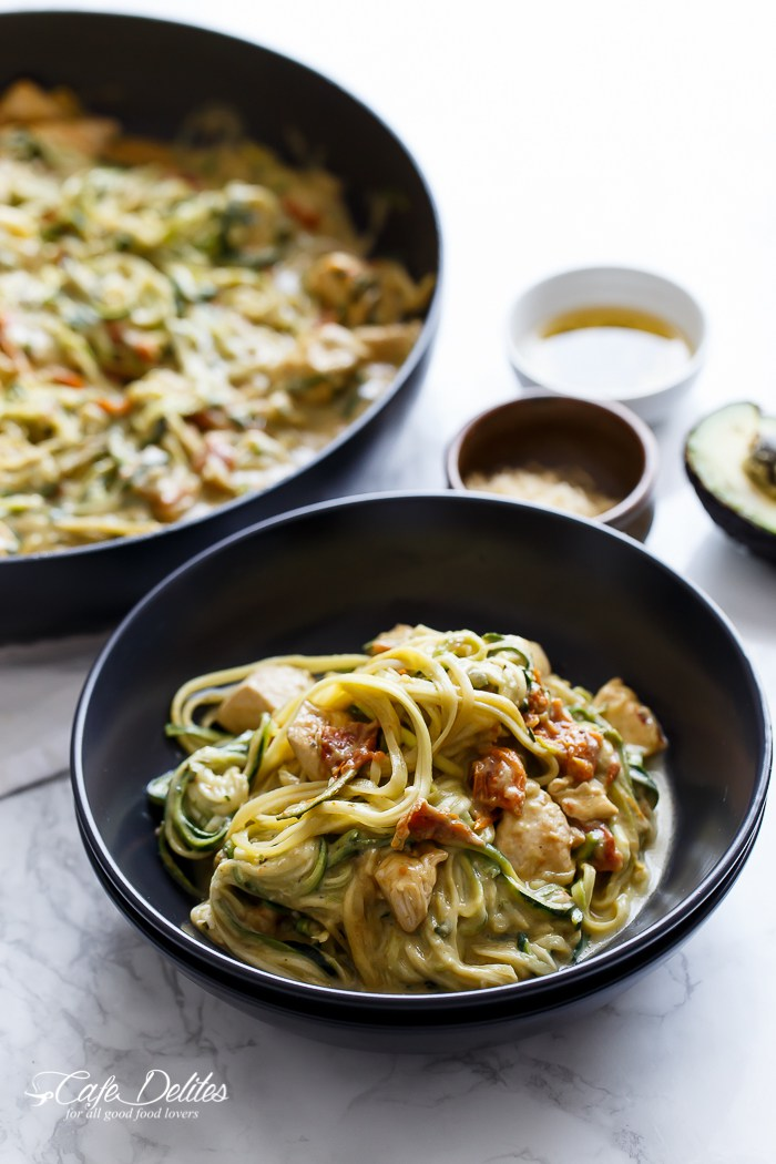 20 zoodle recipes healthy zoodles zoodle dinner ideas cafe delites