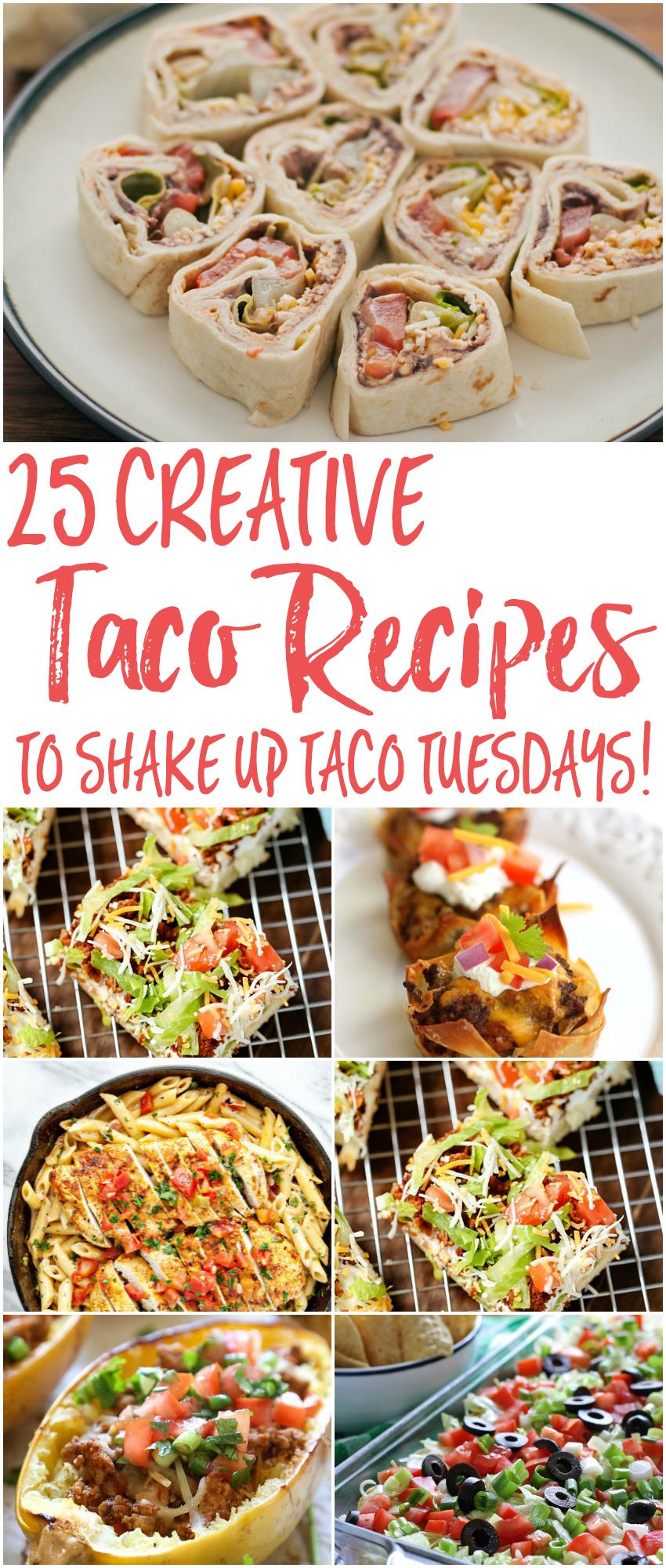 25 Creative Taco Recipes to Shake Up Taco Tuesday!