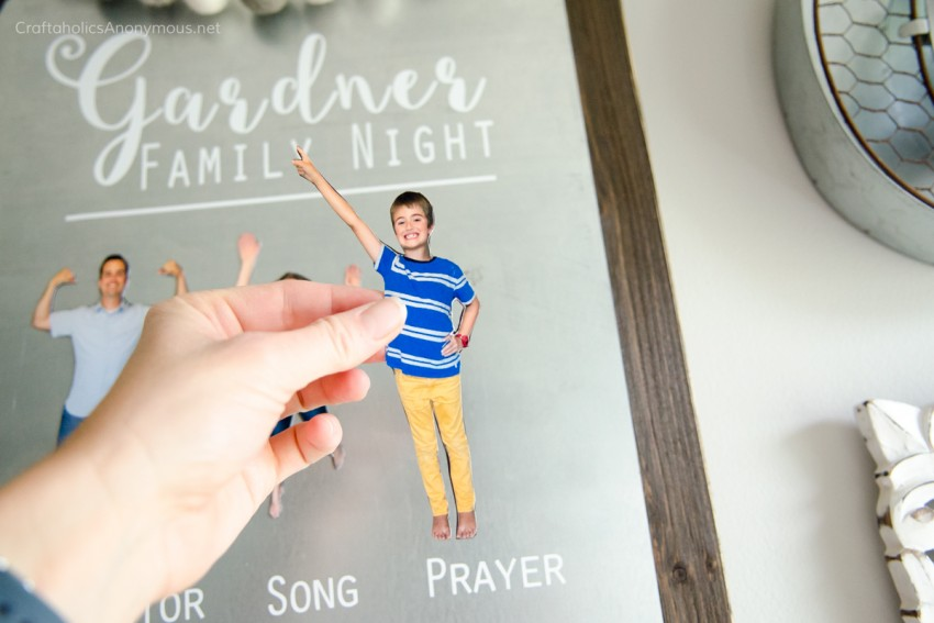 Make your own DIY People Magnets