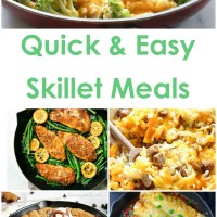 Easy Skillet Meals for Back to School