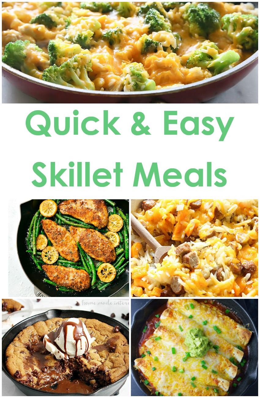 Quick & Easy Skillet Meals