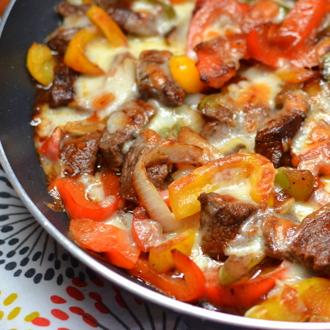 Philly Cheese Steak Skillet