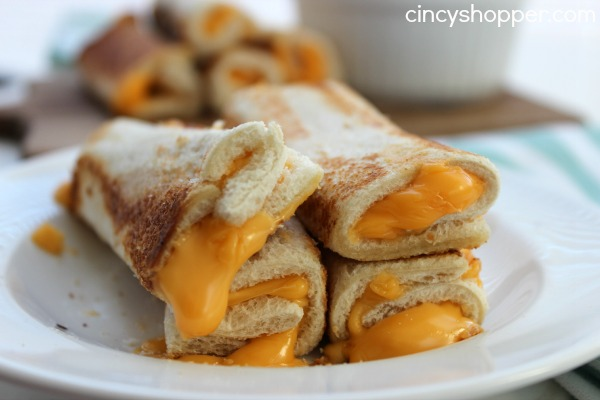 Grilled Cheese Roll Ups
