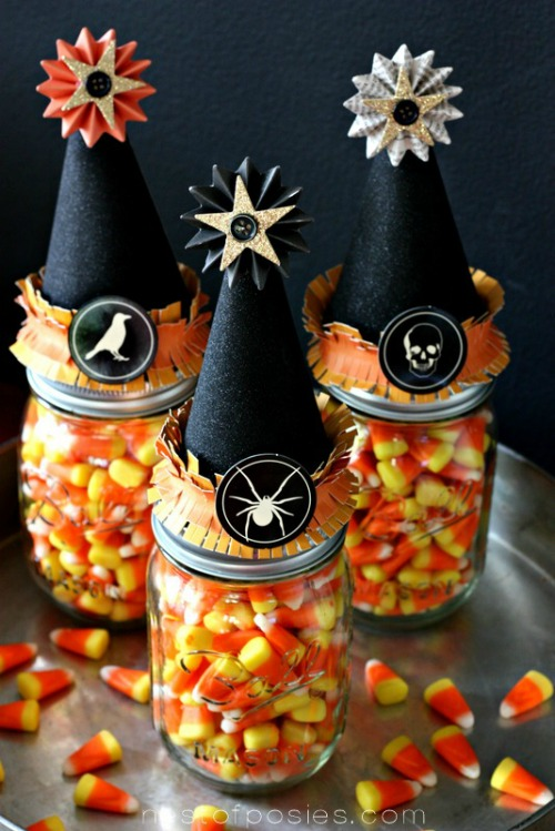 Candy Corn Witches Vitamins from Nest of Posies