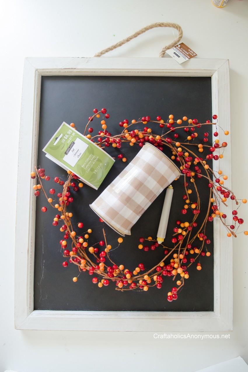 Fall Crafting supplies