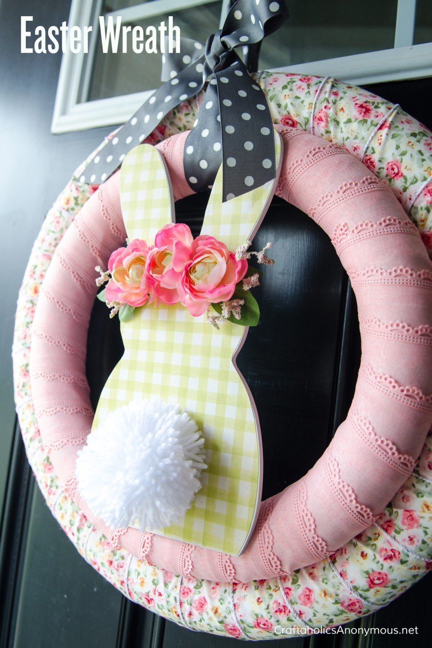 Easter Wreath tutorial DIY