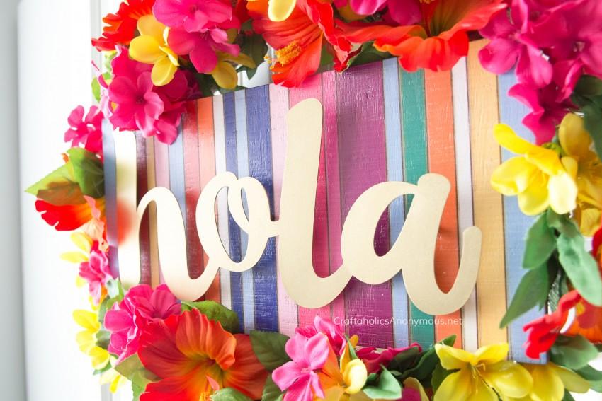 Hola Wreath Tutorial