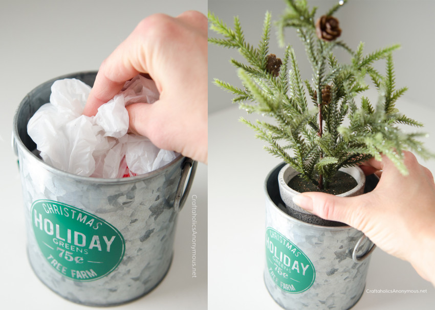 Christmas decor trick