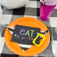 Halloween Monster Manners Dinner + Printables
