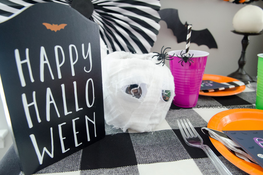 Halloween Party ideas :: Monster Manners dinner for kids