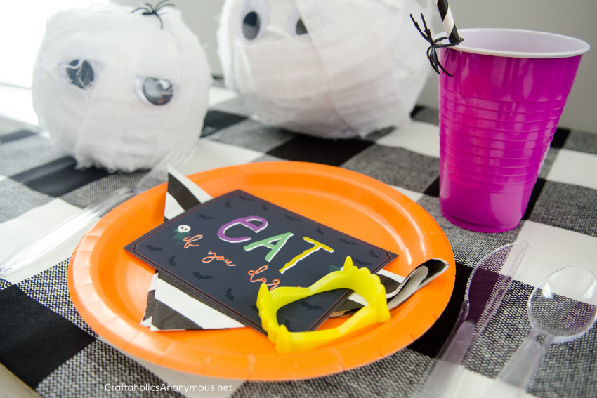 Halloween Monster Manners :: Free printables. Fun idea for young women activity or activity days