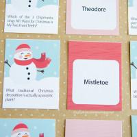 Christmas Trivia Game :: Free Printable